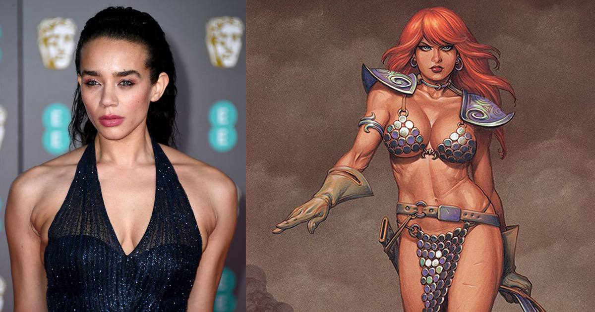 Ant-Man and the Wasp Will Cast Actor Hannah John-Kamen as 'Red Sonja'