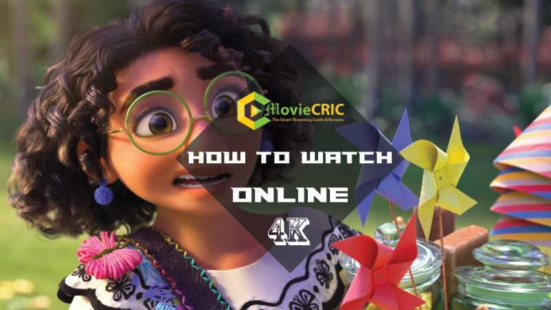 how to watch Encanto online